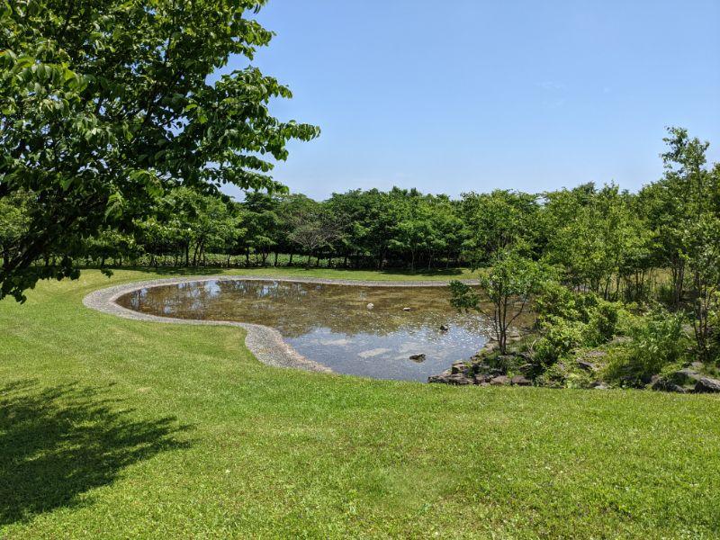 だんパラ公園の水の広場