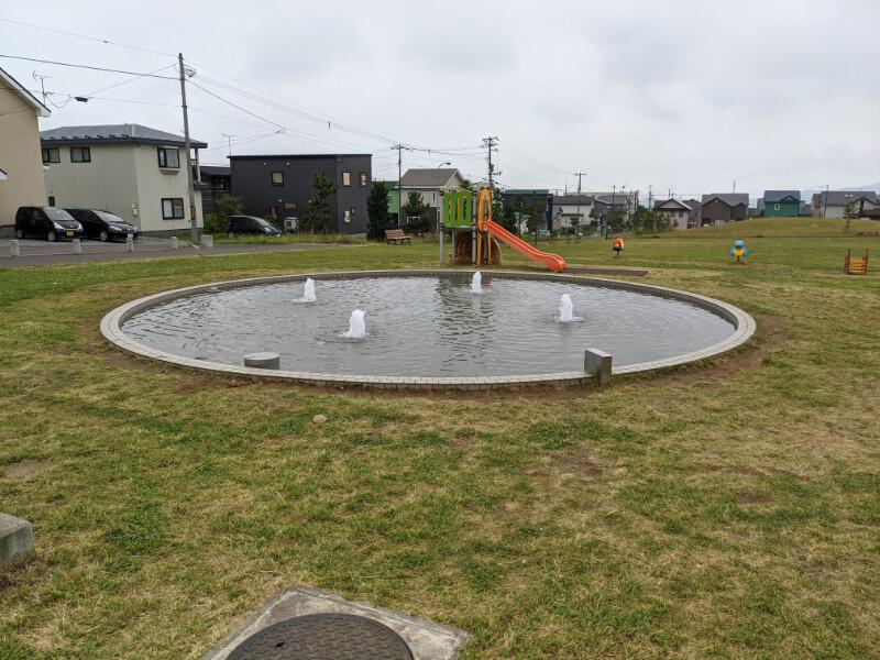 室蘭・八丁平南公園の水の遊び場