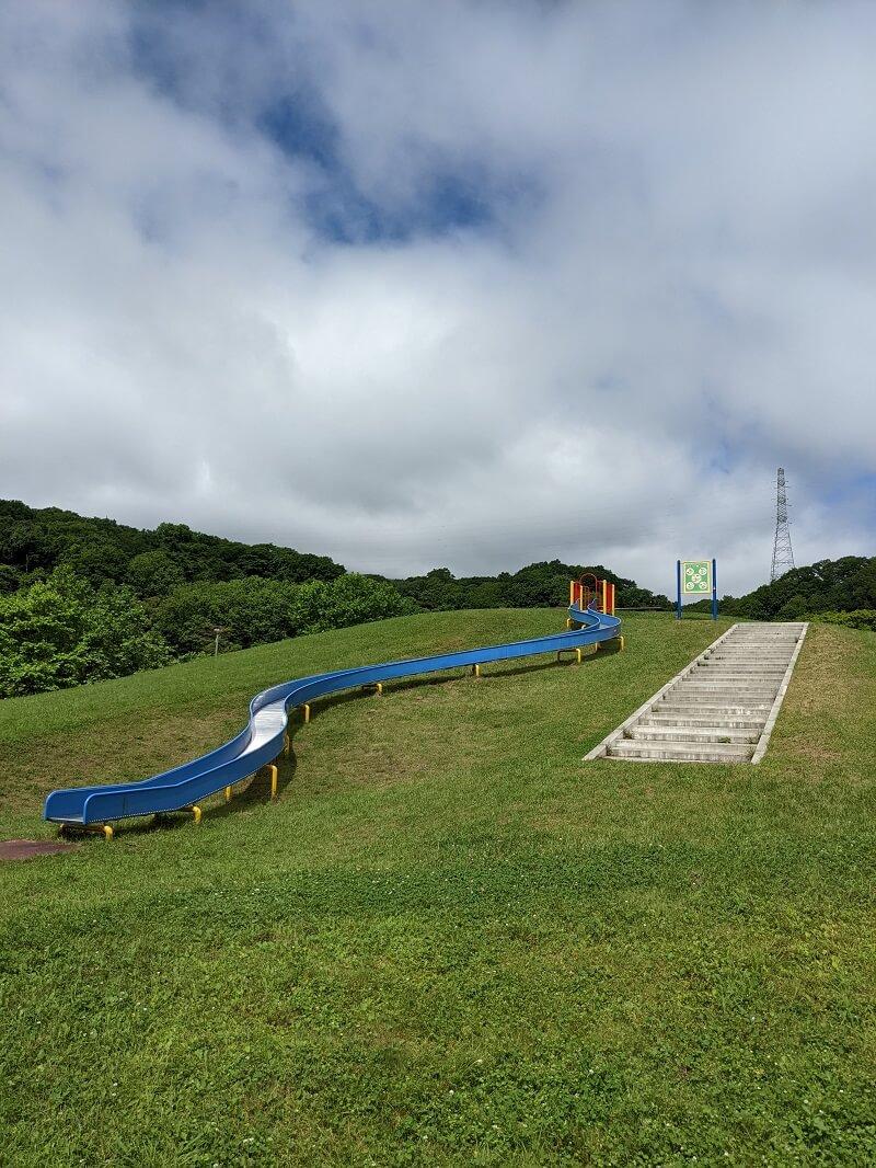 川上公園のローラー滑り台