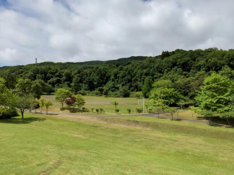川上公園のサッカー場(多目的運動広場)の全景